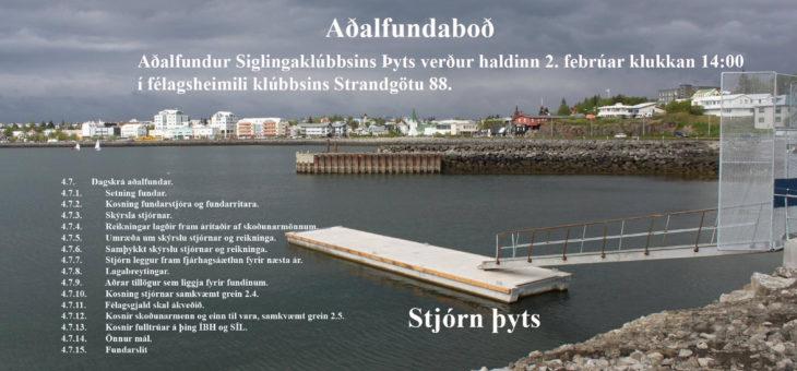 Aðalfundaboð
