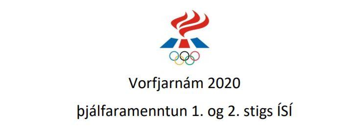 Sumarfjarnám – Þjálfaramenntun ÍSÍ